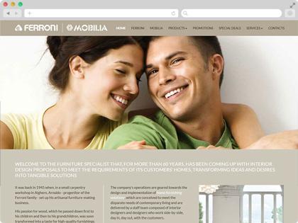 Netfabric web solutions london web development agency for Ferroni sassari